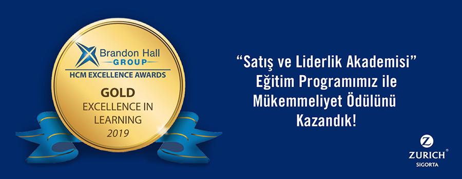 """""""Satış ve Liderlik Akademisi"""" Eğitim Programımız ile Mükemmeliyet Ödülünü Kazandık!"""