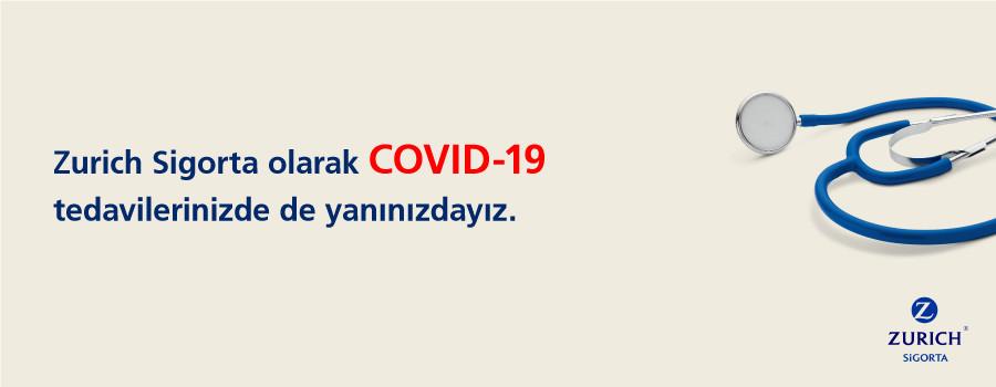 Covid-19 tedavilerinizde de yanınızdayız!