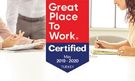 """""""Great Place To Work Certified"""" Şirketi Olarak Anılmaya Hak Kazandık!"""