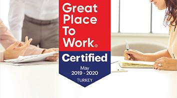 """""""Great Place To Work®️ Certified"""" Şirketi Olarak Anılmaya Hak Kazandık!"""